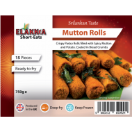 Elakkia Mutton Rolls (Uncooked) 15pcs
