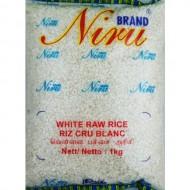 Niru White Raw Rice 1Kg